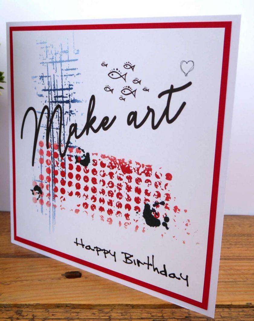C3500 - Happy Birthday Card 3