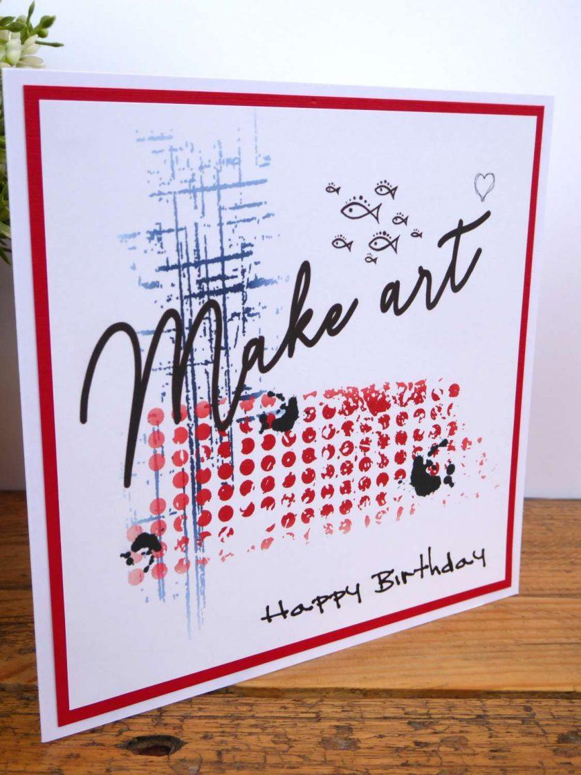 C3500 - Happy Birthday Card 4