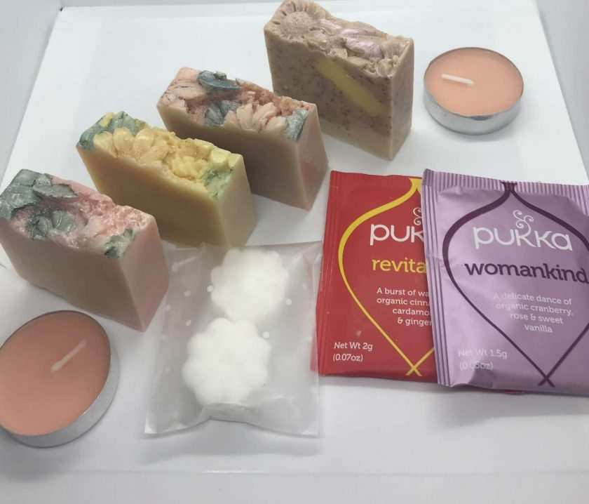 Gifts for Mum/Thank You For Being Lovely-Letterbox Pamper Pack/Natural/Luxury Soap/Vegan Soap/Gifts for Mum/Gift for Her 1