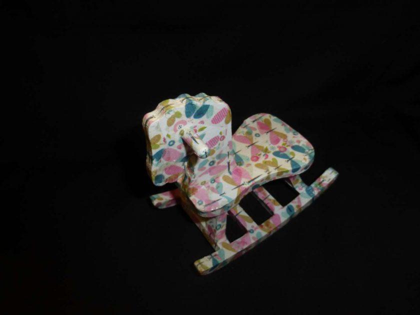 Rocking Horse - Decopatch Ornament 3