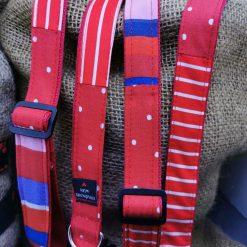 Handmade dog collars (M) Red 5