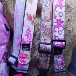 Handmade dog collars (M) pinks 10