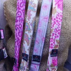 Handmade dog collars (M) pinks 11
