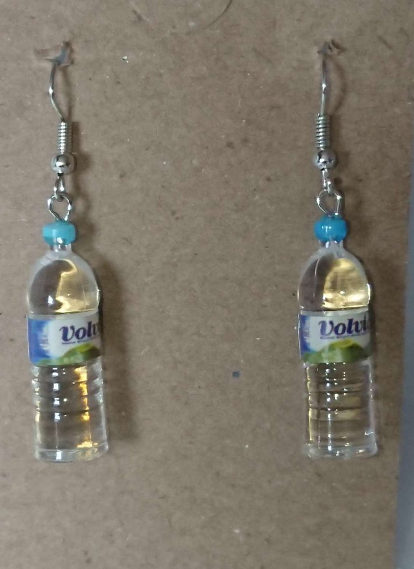 Water Bottle Earrings 1