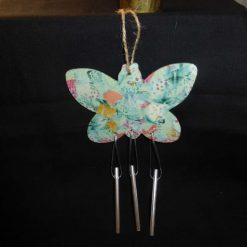 Butterfly Wind Chime - Decopatch Ornament
