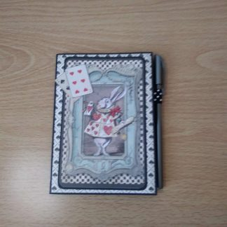 A6 Alice in Wonderland Mini Notebook with pen
