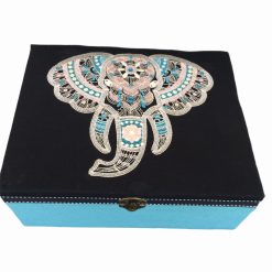 Boho Elephant storage Box