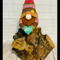 Too Cute Happy Birthday Gnome