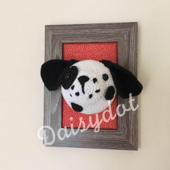 Crochet Dalmatian Frame