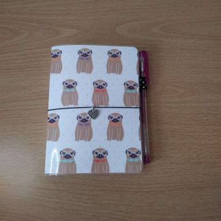 A6 Size laminated notebook
