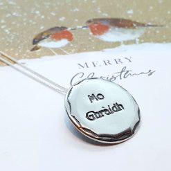 Silver Pendant - Mo Ghraidh / My Love