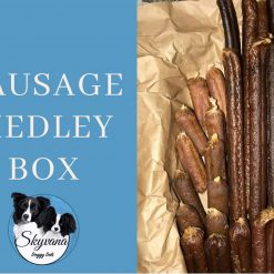 Dog Sausage Medley Treat Box FREE shipping