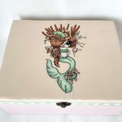 Mermaid storage box