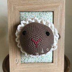 Crochet Sheep Frame
