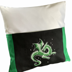 dragon pocket reading cushion