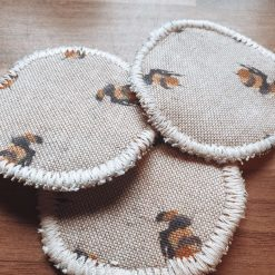 Reusable Cotton Makeup Removal Pads in Various Print
