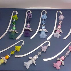 - Angelic Angels - Handmade Beaded Bookmark - 9 colours available