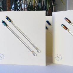 Fused Glass Cocktail Stirrers 1