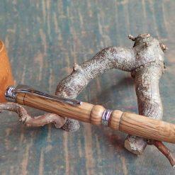 Ballpoint Pen in Holm Oak 1418