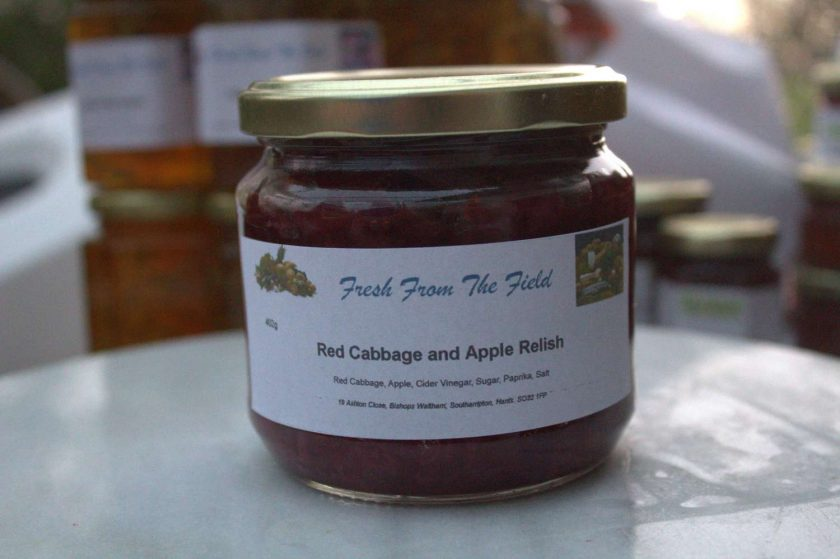 Red Cabbage and Apple Relish 1