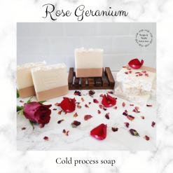 Handmade Artisan rose geranium and French pink clay cold process soap, free postage uk ,CPSR ,vegan friendly ,cruelty free,luxury skincare ,bathandbeauty ,soaps ,essential oils ,Handmade soaps
