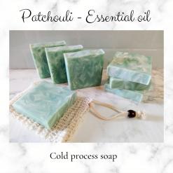 Handmade Artisan patchouli cold process soap, free postage uk ,CPSR ,vegan friendly ,cruelty free,Artisan soaps ,luxury skincare ,Bathandbeauty ,essential oils ,soaps,Handmade soaps