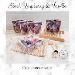 Handmade Artisan black raspberry and vanilla cold process soap, free postage uk ,CPSR ,vegan friendly ,cruelty free,Artisan soaps ,luxury skincare ,Bathandbeauty ,Handmade soaps ,Soaps