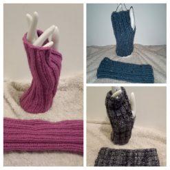 Hand Knitted Fingerless Gloves Made To Order