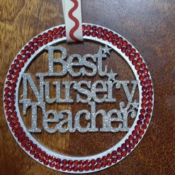 Best Nursery Teacher hanging gift. 4
