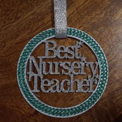 Best Nursery Teacher hanging gift. 5