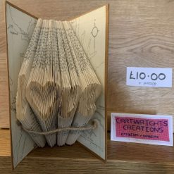 Folded Book Art - Love