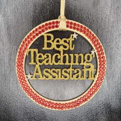 Special Teaching assistant hanging gift.