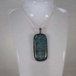 Dichroic Glass Pendant #P56