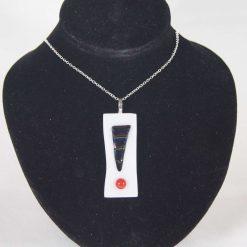 Dichroic Glass Pendant #963