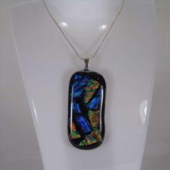 Dichroic Glass Pendant #P31