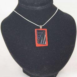 Dichroic Glass Pendant #948
