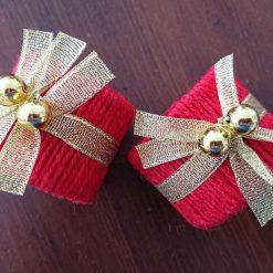 Christmas Napkin Rings (set of 2)