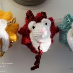 Angel Mouse Christmas Decoration - Made to Order