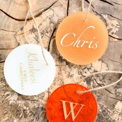 Personalised Baubles | Christmas Decorations | 1st Class Free Delivery l