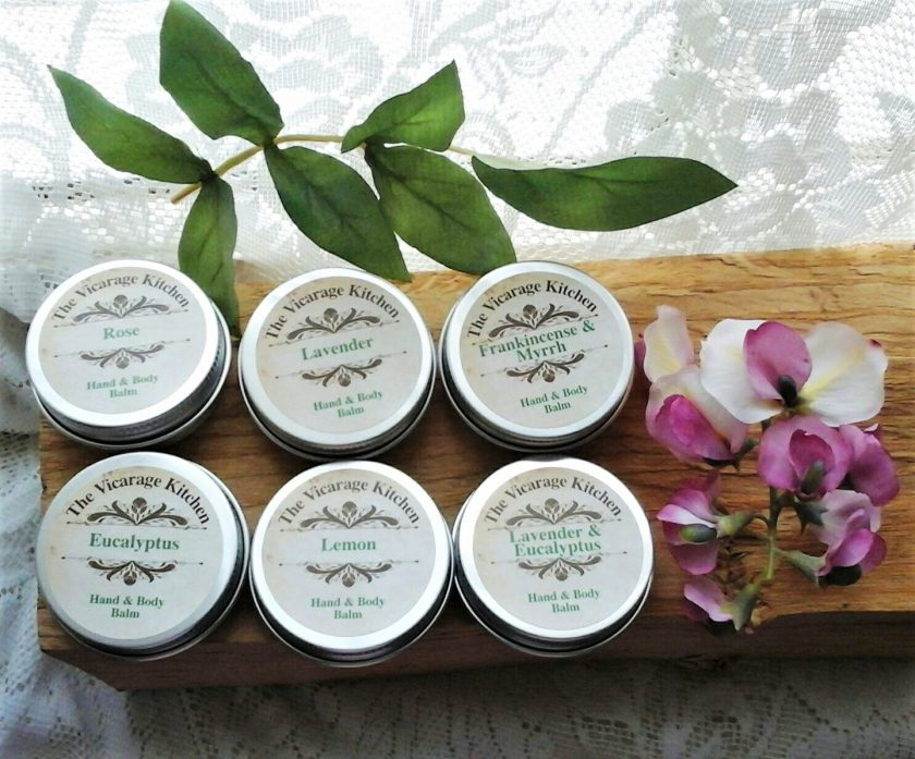The Vicarage Kitchen Essential Oil CPSR Certificated Hand & Body Balms 30ml 6 Fragrances 2