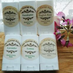 *SALE PRICE* The Vicarage Kitchen Essential Oil CPSR Certificated Handbag Size Hand Balm 6 Fragrances