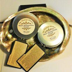 *NEW*The Vicarage Kitchen Certificated Men's Organic Moisturising Cream 60ml