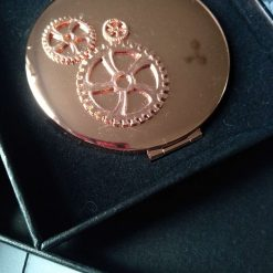 Rose Gold Double Compact Mirror