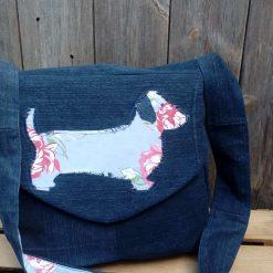 OOAK Sausage Dog Fully Lined Handbag Dachshund