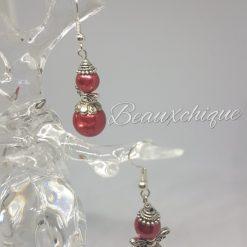 Red Angel Earrings 5