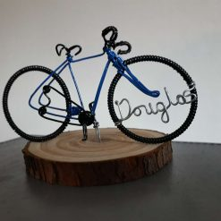 Gift for cyclists, Bicycle Keepsake and Ornament.