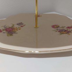 2 tier cake stand 'peace' 4