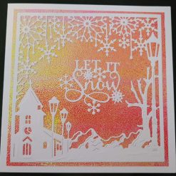 Let It Snow - Red / Green Shimmer