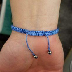 Blue Floral Bracelet 9
