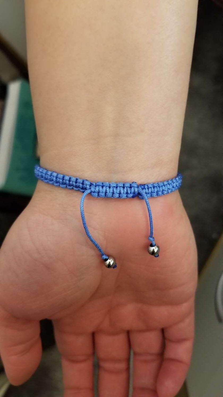 Blue Floral Bracelet 5